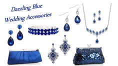 dazzling-blue-accessories #BrightCobalt  wedding accessories