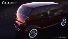 Multipla Vorto Concept nice retro concept by Ali Cam of Fiat 600 Multipla Vort popular throughout Europe in the and - March 02 2019 at Fiat 600, Small Cars, Maserati, Concept Cars, Cars And Motorcycles, Creative Design, Dream Cars, Retro, 1960s