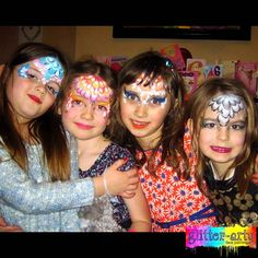 Girls Princess Party by Glitter-Arty Face Painting, Bedford, Bedfordshire Girl Face Painting, Glitter Face, Henna Artist, Princess Party, Face Art, Girly, Pretty, Women's, Girly Girl