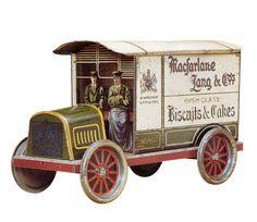 Macfarlane Lang 1911 , Motor Van biscuit tin