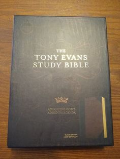 The Tony Evans Study Bible is a great resource for expanding your study of God's Word and you can win a copy of it on my blog! Enter today! #TonyEvansStudyBibleL3