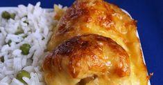 Már többször készítettem ezt a finom csirkés ételt. Most kimondottan Párom kérésére lett ez a vasárnapi ebéd fő fogása. Szintén kívánságra z... Chicken, Food, Eten, Meals, Cubs, Kai, Diet