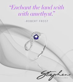 Add something special to your outfit with this stunning Amethyst and sterling silver ring. Shop in store or online at http://www.stephensjewellers.com.au/brand/stephens?category=&stone_type=&metal_type=&search_query=&gender=&promotion= #Stephensjewellers #Jewellery #Amethyst #February #Birthstone http://www.stephensjewellers.com.au/