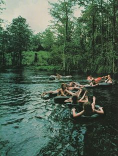 River Tubing  The perfect summer activity? Find the nearest river, a tube, and your closest pals.