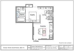 studio de 33m² - arquitetos Ana Maria Coelho e Felipe Karam e a designer de interiores Selma Milaré Rubim