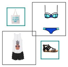 """""""Peice of paradise"""" by jellolover14 ❤ liked on Polyvore featuring ALPHABET BAGS"""