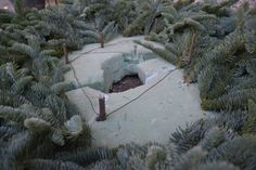 Great tutorial for making outdoor pots. Dtd 11/22/14 & 11/23/14 in the blog