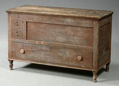 Old Amish Blanket Chest...