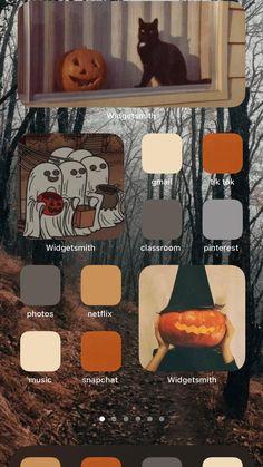 Halloween Inspo, Halloween Season, Halloween Treats, Fall Halloween, Halloween Decorations, Iphone Wallpaper App, Halloween Wallpaper Iphone, Fall Wallpaper, Aesthetic Iphone Wallpaper