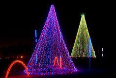 christmas lights   Christmas Lights at Adventure Park USA