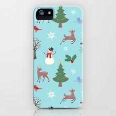 Christmas iPhone & iPod Case by Eri Kawakami - $35.00