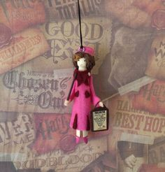 Image result for clothespin doll ornaments