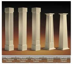 Poly-Craftsman Style Columns