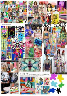 FASHION TREND SPRING SUMMER 2015 ART THEME