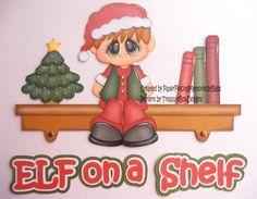 Navidad, navidad y navidad... la época festiva, que más me encanta!!!! :: RT Decoraciones y algo más... Festiva, Christmas Scrapbook, Paper Piecing, Elf, Card Making, Cricut, Scrapbooking, Paper Crafts, Create