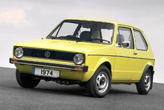 You always remember your first car. Mk1 VW Golf