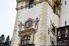 Фасадный декор замка Пелеш