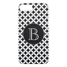Spanish souvenirs group corners initial medium messenger bag black and white geometric pattern custom monogram iphone 87 case negle Images