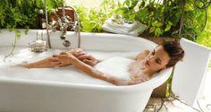 ¿Se te ocurre algo más relajante que un baño de burbujas?