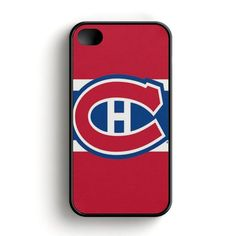 Nhl Montreal Canadiens Logo iPhone 4|4S Case