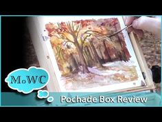 Guerrilla Painter Pochade Box Review for Watercolor Painting - YouTube