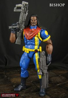 Custom Marvel Legends Bishop X-Men action figure