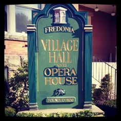 Village Of Fredonia in New York
