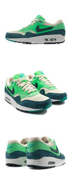 Nike Air Max Am1 Gs Groen/Zwart
