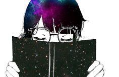 Manga Girl, Anime Manga, Anime Art, Anime Galaxy, Galaxy Art, Space Anime, Galaxy Images, Rainbow Galaxy, Cute Anime Pics
