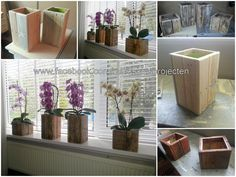 Made a couple of small planterboxes for my wife. More information: Mark's Klusprojecten website ! Submitted by: Mark Valkenburg !
