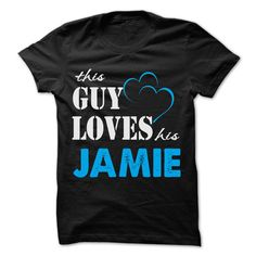 This Guy Love இ His Jamie - Funny Name Shirt !!!This Guy Love His Jamie - Funny Name Shirt !!! If you are Jamie or loves one. Then this shirt is for you. Cheers !!!TeeForJamie Jamie