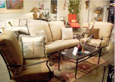 Patio furniture, gas logs, dining sets, cushions and accessories. Creating a Work of Art One Yard at a Time. Yard Art Grapevine is conveniently located in Stacy Furniture. With 3 showrooms, you are sure to find the ideal patio furniture.
