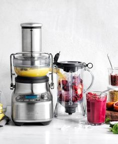 This is Bluicer. A new category of kitchen appliance that's saves space and solves your dilemma of whether to get a juicer or blender. Green Smoothie Recipes, Smoothies, Centrifugal Juicer, Unsweetened Coconut Milk, Frozen Cocktails, Best Blenders, Ice Cream Maker, Soft Serve, Healthy Juices