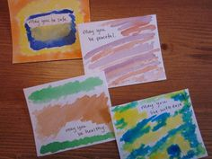 Loving Kindness Meditation with Watercolors - thank you, Stacey, I find such Peace in your blog.