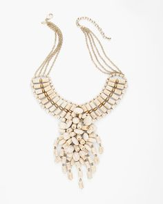 Chico's Sarabi Bib Necklace #chicos