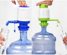 Drinking Water Hand Press Pump Manual Tap Spigot 5-6 Gallon Bottled Dispenser