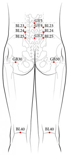 See figure: and and both sides of and acupuncture points).' from publication 'Short-Term Effect of Laser Acupuncture on Lower Back Pain: A Randomized, Placebo-Controlled, Double-Blind Trial' on ResearchGate, the professional network for scientists. Acupuncture Benefits, Acupuncture Points, Acupressure Points, Cupping Therapy, Massage Therapy, Popsugar, Reflexology Massage, Massage Oil, Traditional Chinese Medicine