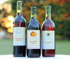Boo! Custom Halloween Wine Labels are Here