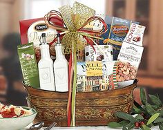 Taste of Italy at Wine Country Gift Baskets