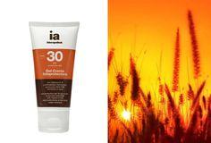 Gel-crema fotoprotectora con vitamina C. #Playa #Mar