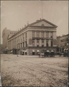 c1875 . Astor Place (NYC's Gilded Age)