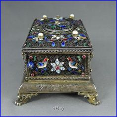 antique music box