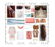 """""""peach. tribal. -ish."""" by berkeleyscout on Polyvore"""