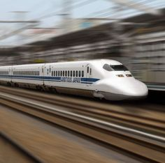 Shinkansen was known to be the world's busiest high-speed line, before China started operating its CRH380A. Shinkansen has a top speed of 320kph.