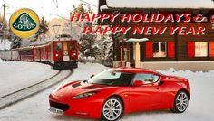 Lotus Holiday Card
