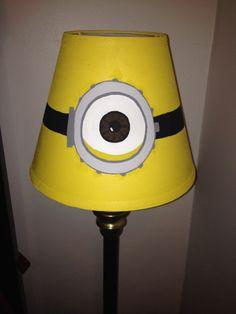 Despicable Me Minion Decorative Lamp Shade