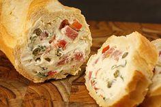 Chef Chuck's Cucina: Chef Chuck's Mediterranean Stuffed Bread