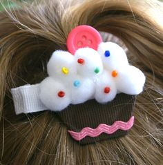 Cute - Not for a hair clip, but for an embellishment of some kind.
