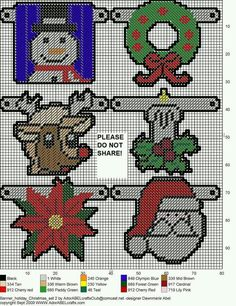 BANNER * HOLIDAY * CHRISTMAS SET TWO by DAWNMARIE ABEL