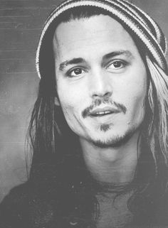 Johnny Depp. I have never been one to be in love with celebrities but he is the only exception. I've been in love with him since I was a toddler